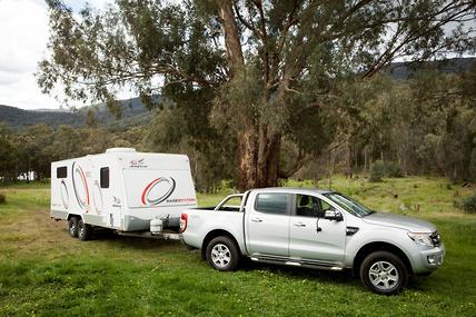 ford ranger now top of the tow tugs caravancampingsales. Black Bedroom Furniture Sets. Home Design Ideas