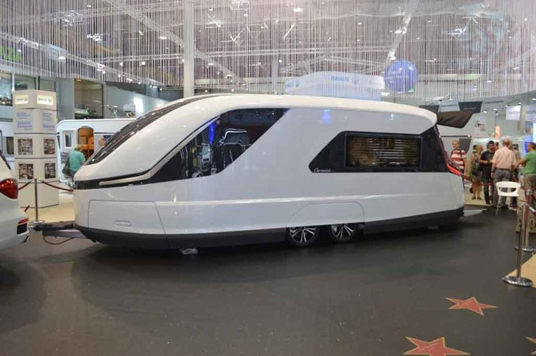Brilliant Caravisio The Caravan Of The Future  Azureazurecom