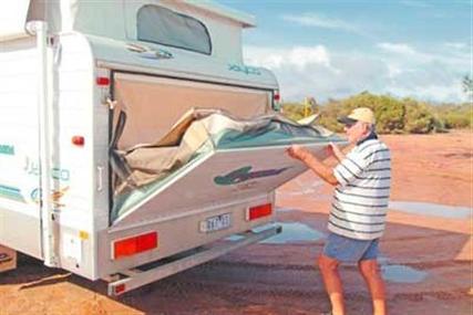 Fantastic Jayco Expanda Caravan Or Pop Top Bagged Bed End Flys  Soft Top