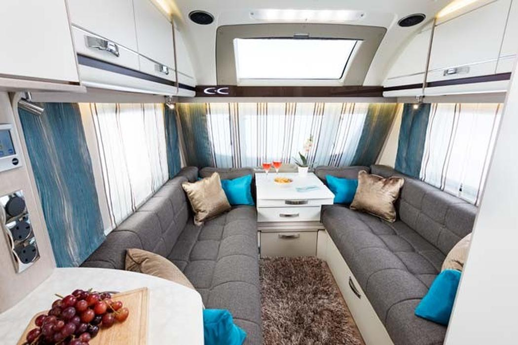 Swift unveils futuristic interior for Interior caravan designs