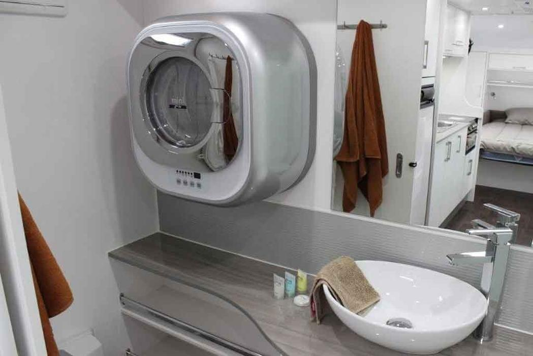 Wall mounted washer a hit – caravancampingsales.com.au