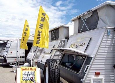 Unique Coromal Pop Top Caravan For Sale In PERTH Western Australia
